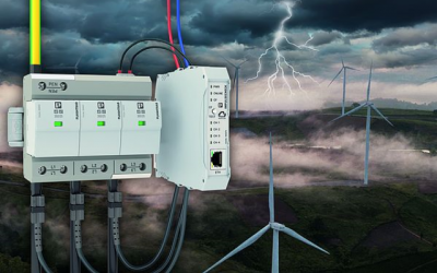 Monitoraggio continuo contro le sovratensioni dei generatori eolici